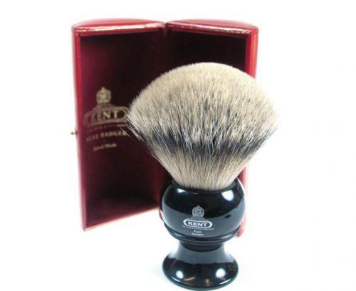 Помазок для бритья KENT BLK12 SILVER-TIP BADGER. Цена 5 100 грн.