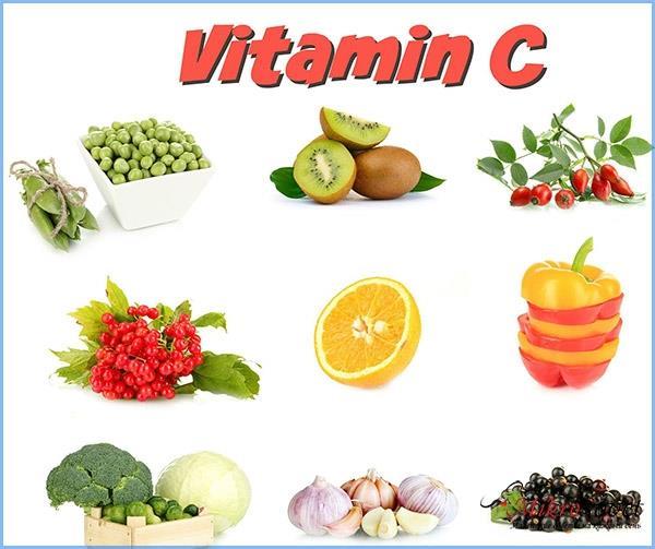 витамин С для волос с продуктами