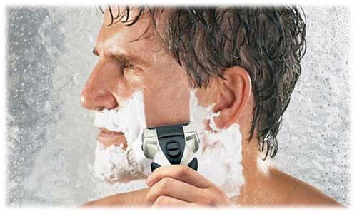 Электробритва для влажного бритья