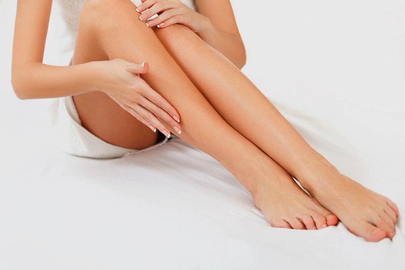 Женские ноги без волос