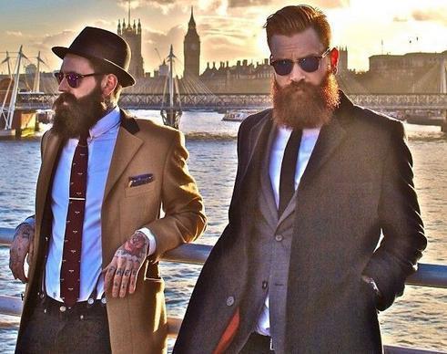 борода красивая