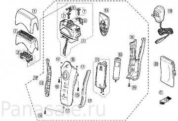 для модели_ES8807 электробритвы Panasonic