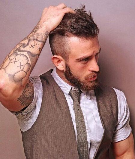 Грязный волос с Beard