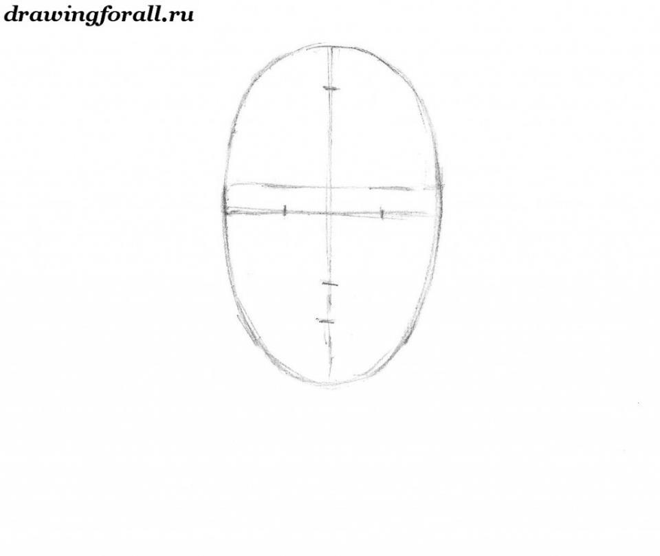 как нарисовать бороду на лице