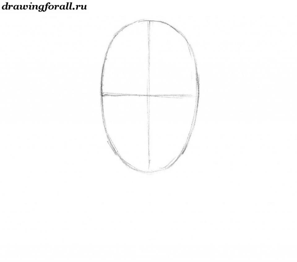 как нарисовать бороду карандашом