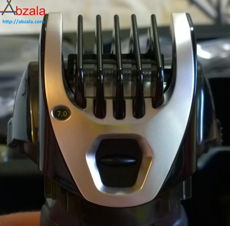 Максимальная длина волос, при стрижке с насадкой на триммер, составляет 7 миллиметров