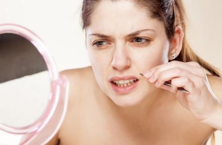 как удалить усики над губой