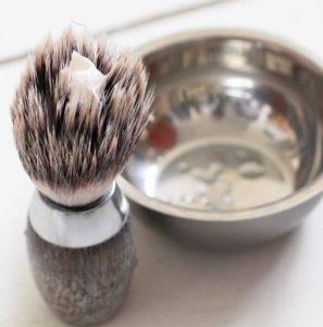 Подготовка к бритью