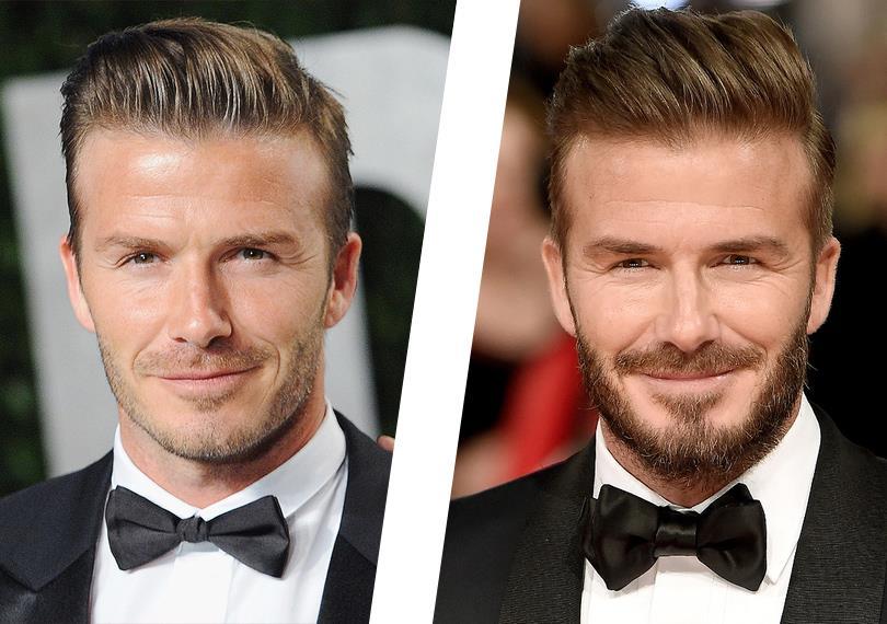Men in Style: борода и люди. Дэвид Бекхэм