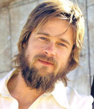 бред питт борода
