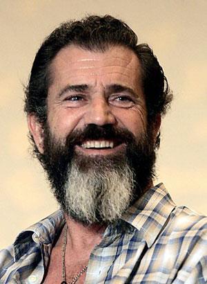 мел гибсон бород