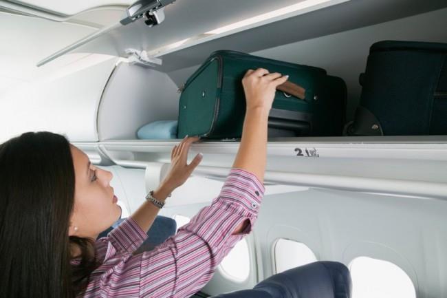 Ответственность за сохранность багажа, перевозимого в кабине возложена на пассажира.