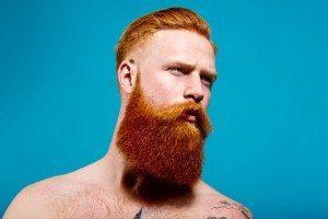 с рыжей бородой