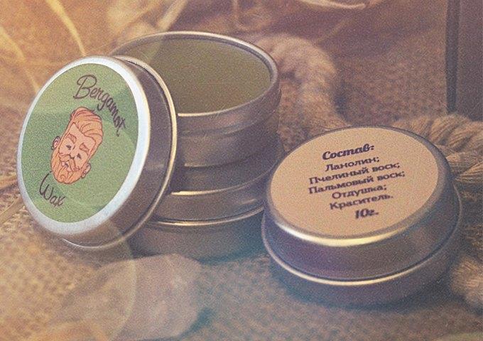 Новая марка: Средства для укладки бороды и усов «Бородист». Изображение № 1.
