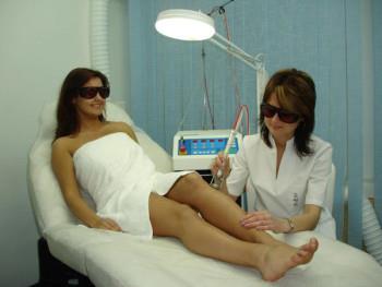 лазерная эпиляция в салоне