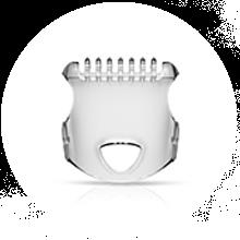 Гребень для поддержания трехдневной щетины и защитный колпачок к многофункциональному груммеру Braun MG5050