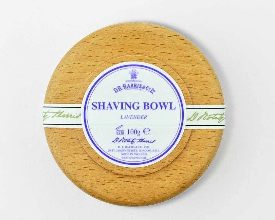 Фото: Мыло для бритья D.R. Harris тройного помола