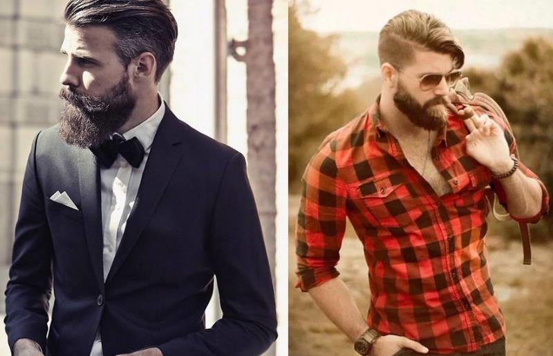 Стрижка и дизайн бороды и усов