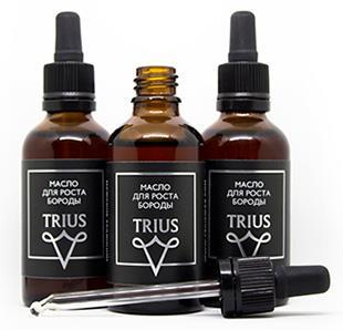 Масло для роста бороды TRIUS