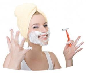 Запрещенные способы выведения волос над губой у девушек