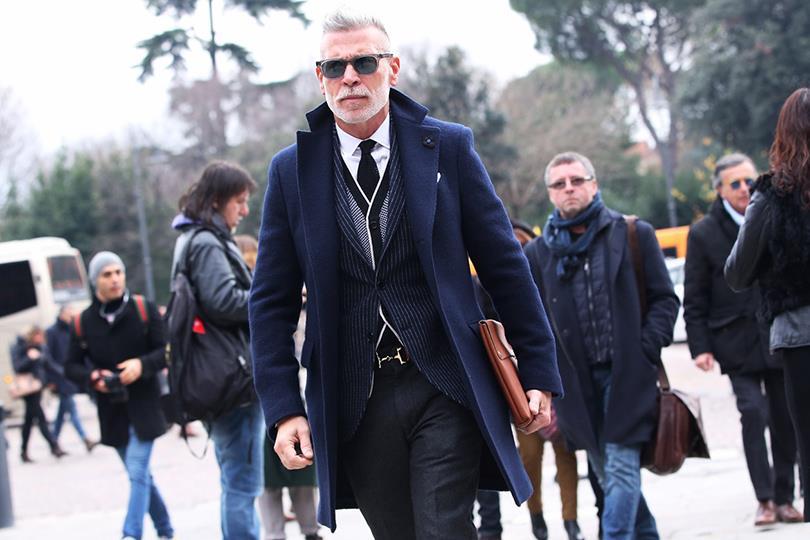 Бородатые модники на Pitti Uomo