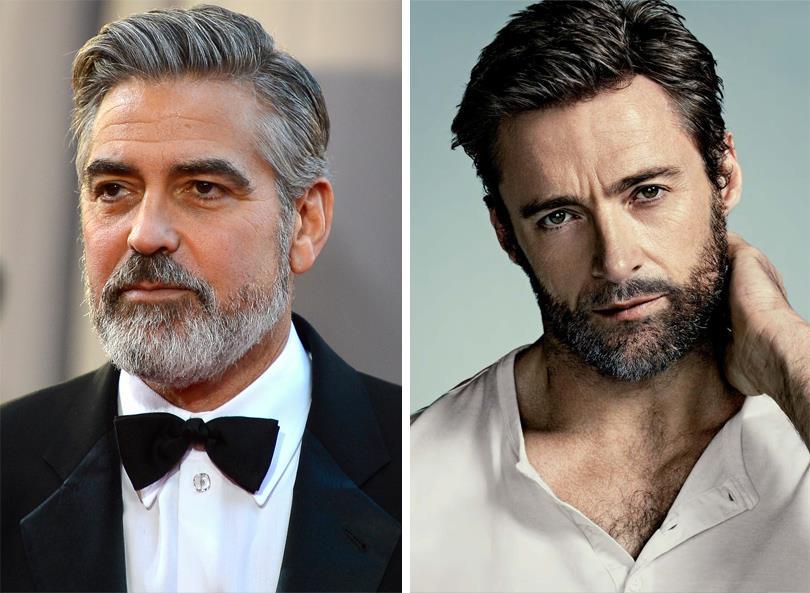 Джордж Клуни. Хью Джекман