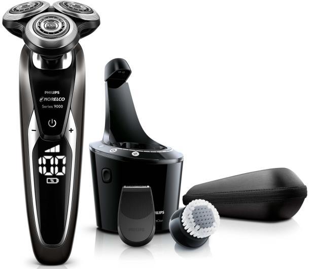 Основная комплектация электробритвы Philips Norelco shaver 9700 with Cleansing Brush