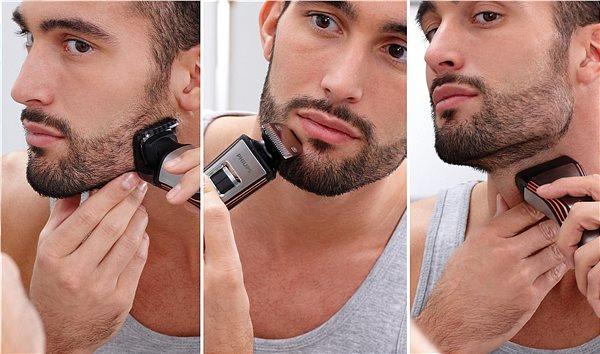этапы стрижки бороды
