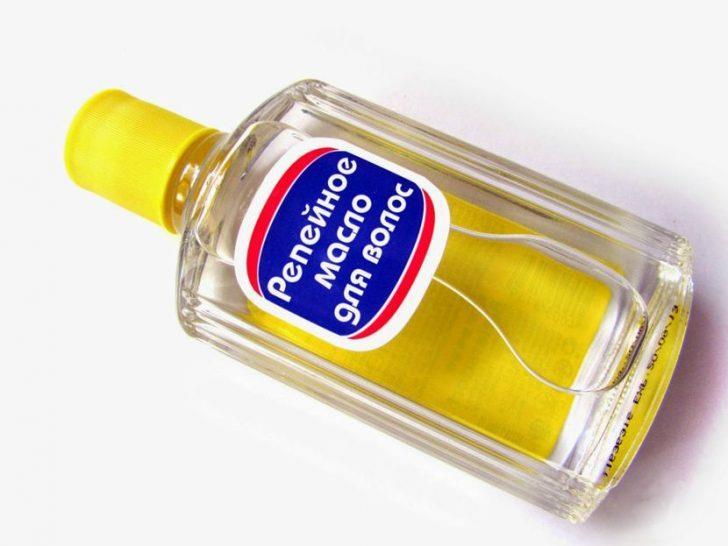 Действие репейного масла