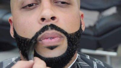 Как покрасить бороду стойкой краской - пошаговая инструкция