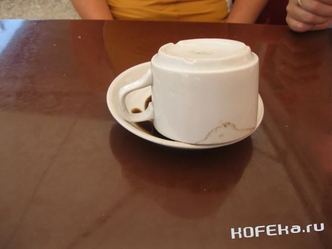 перевернули чашку для гадания
