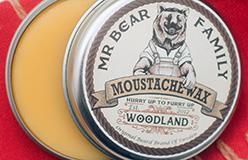 Mr Bear Family: воск для усов, масло и бальзам для бороды