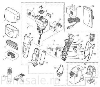 для модели_ES8109 электробритвы Panasonic