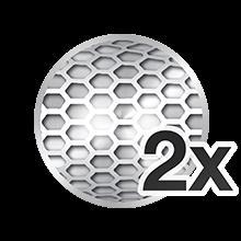 2 бреющих сетки Opti-Foil™
