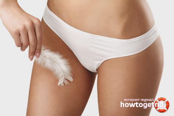 Как избавиться от раздражения после бритья в интимной зоне