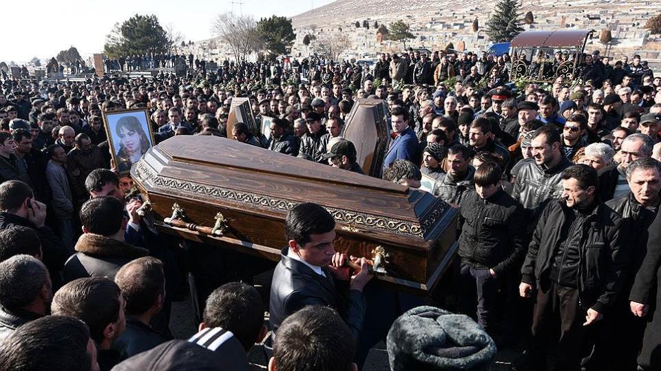 Армянские похороны