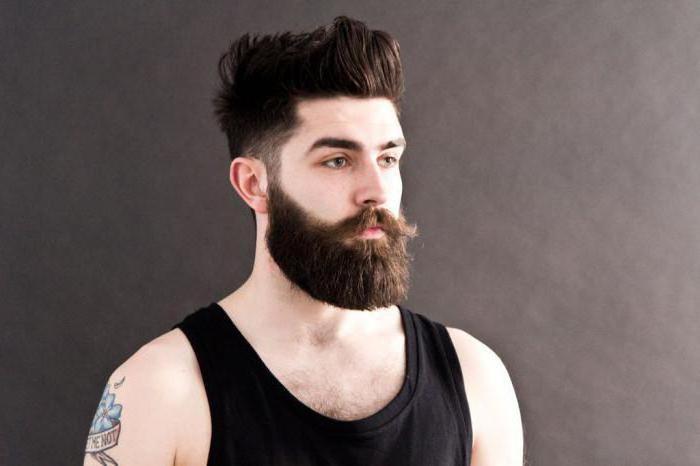 борода не растет на щеках