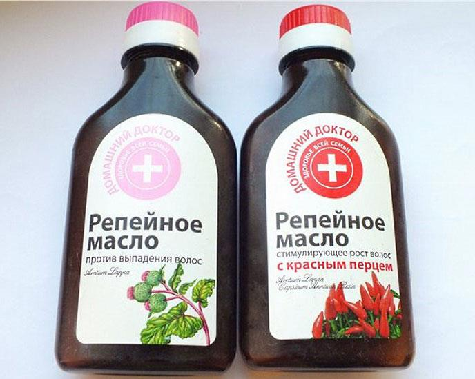 Репейное масло из аптека