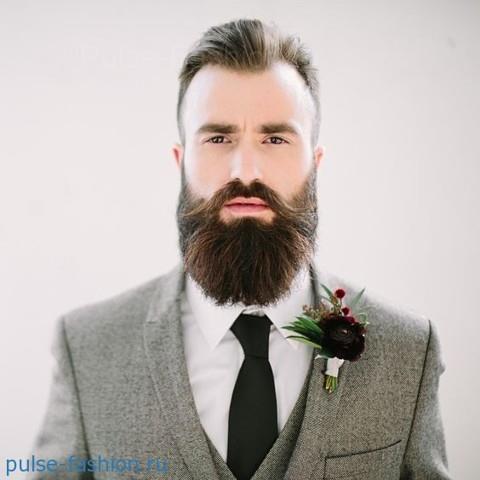 Стильная и модная полная (или русская) мужская борода 2017 Модная мужская борода 2017