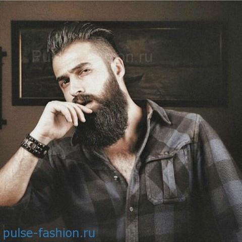 Стильная и модная полная (или русская) мужская борода 2017-2018 Модная мужская борода 2017-2018